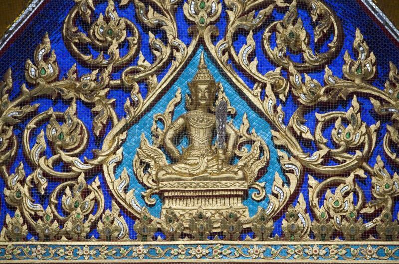 tajski w świątyni obrazy royalty free