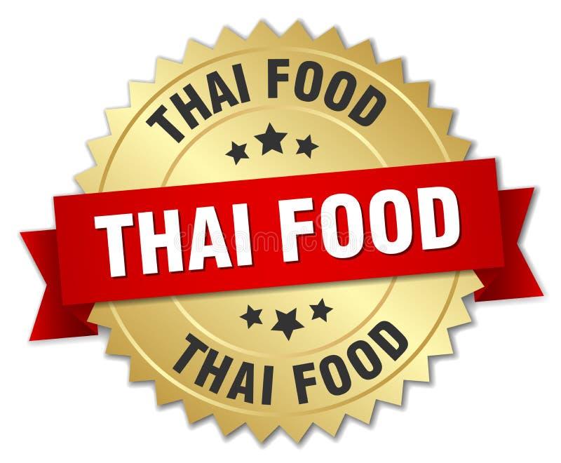 tajskie jedzenie ilustracja wektor