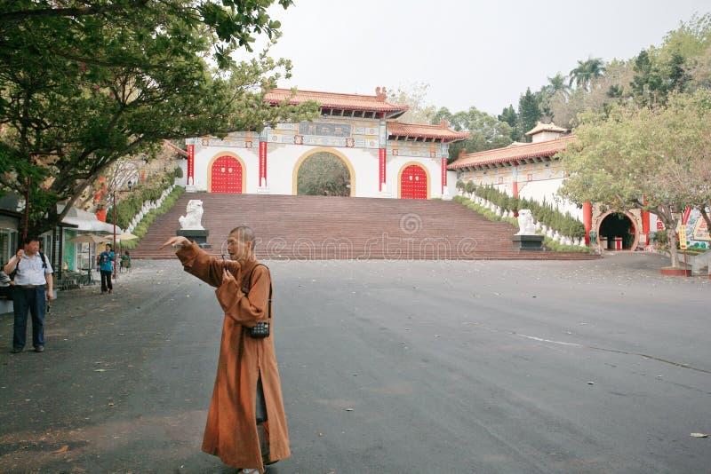 Tajwańska Buddha świątynia zdjęcia royalty free