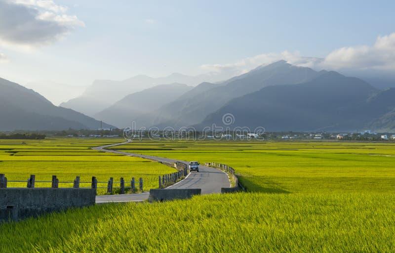 Tajwańska wiejska sceneria obraz stock
