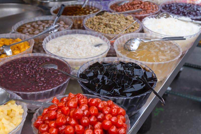 Tajwański deser przy nightmarket obraz stock