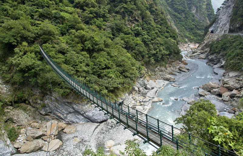 Tajwański Taroko park narodowy obrazy stock