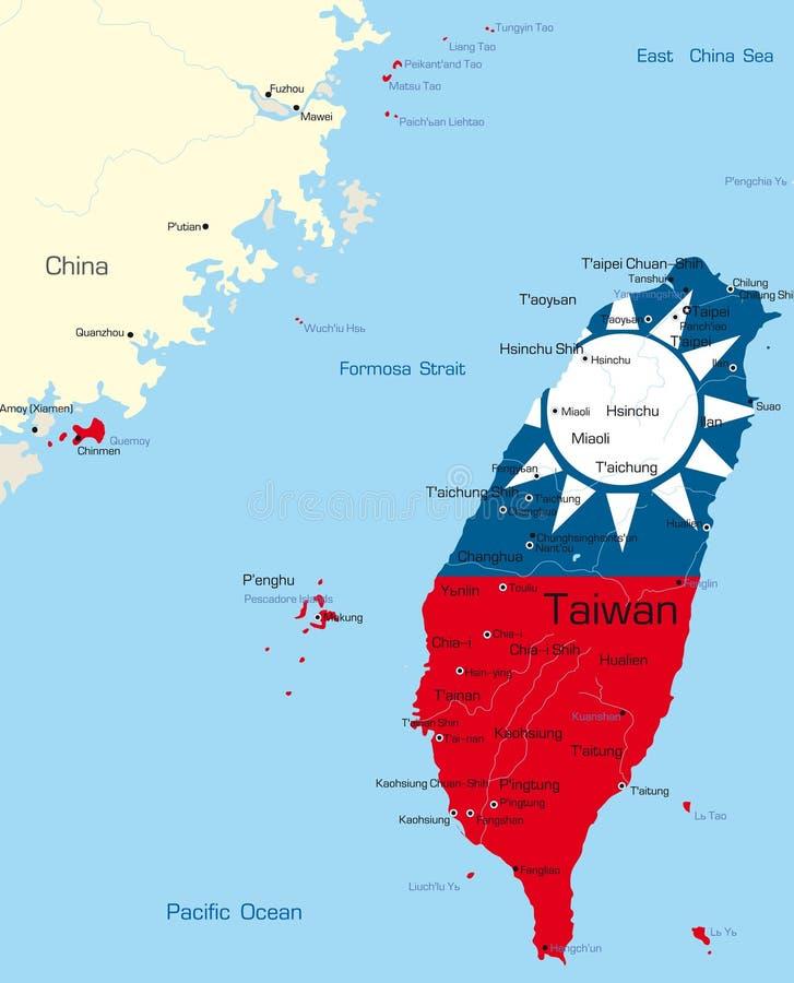 Tajwan ilustracji