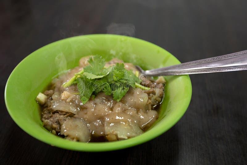 Tajwan, tradycyjna kuchnia, handmade, cywilne przekąski, wieprzowina farsz, klopsiki, obrazy royalty free
