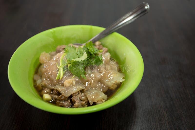 Tajwan, tradycyjna kuchnia, handmade, cywilne przekąski, wieprzowina farsz, klopsiki, fotografia royalty free