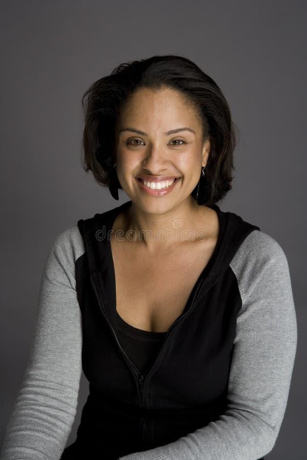 tak, afroamerykanin pewna kobieta obrazy royalty free
