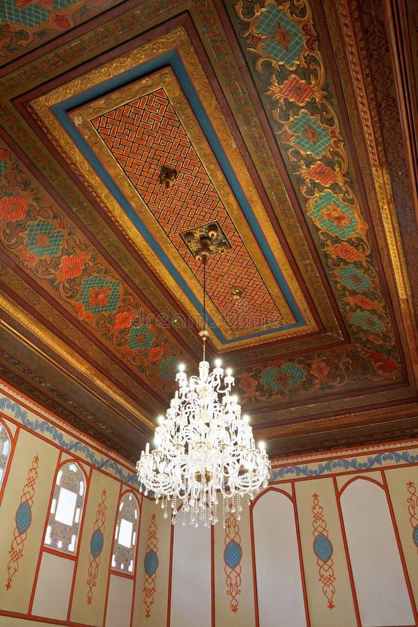 Tak av Divan Chamber i Khans slott, Krim arkivfoton