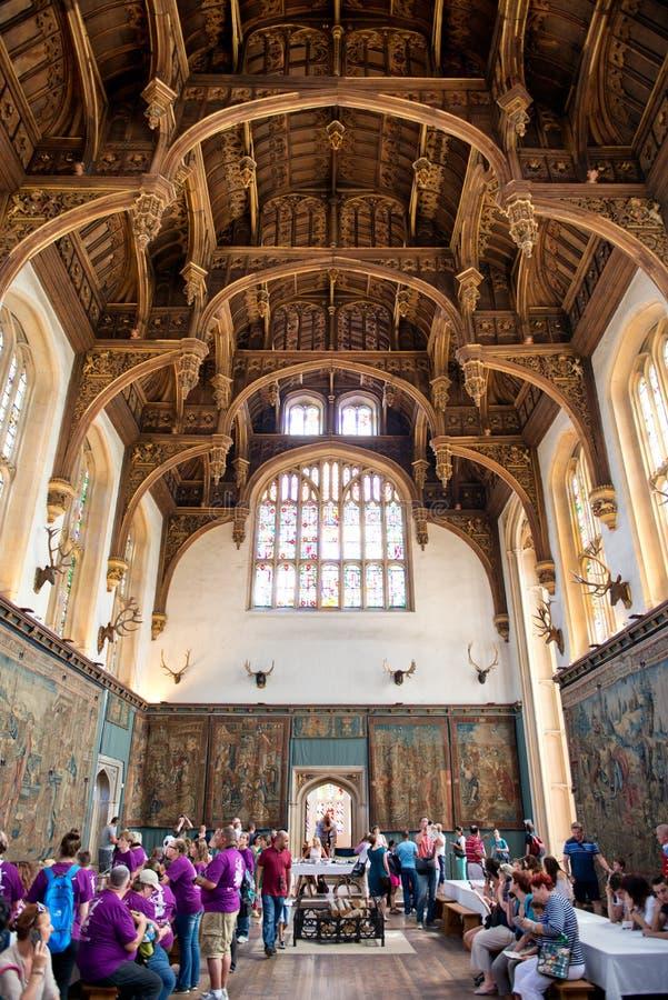 Tak av Tudor Great Hall på Hampton Court fotografering för bildbyråer