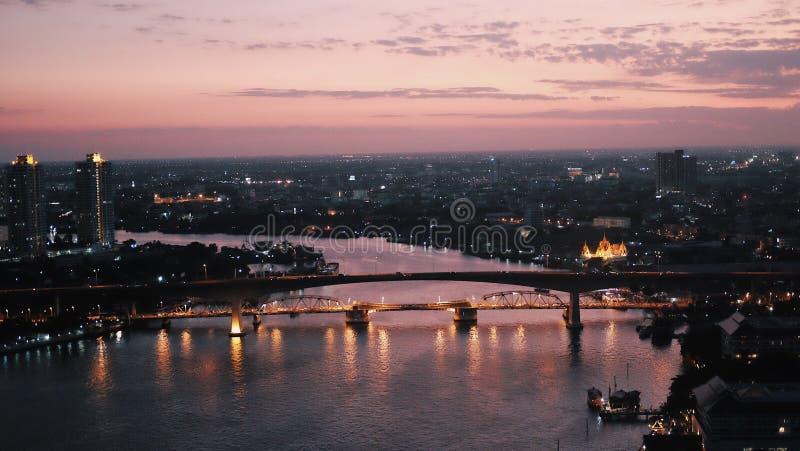 tak Bangkok arkivbilder