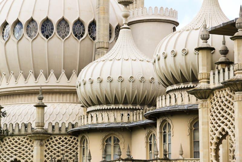 tak för pavillions för brighton kupol utsmyckat royaltyfria bilder