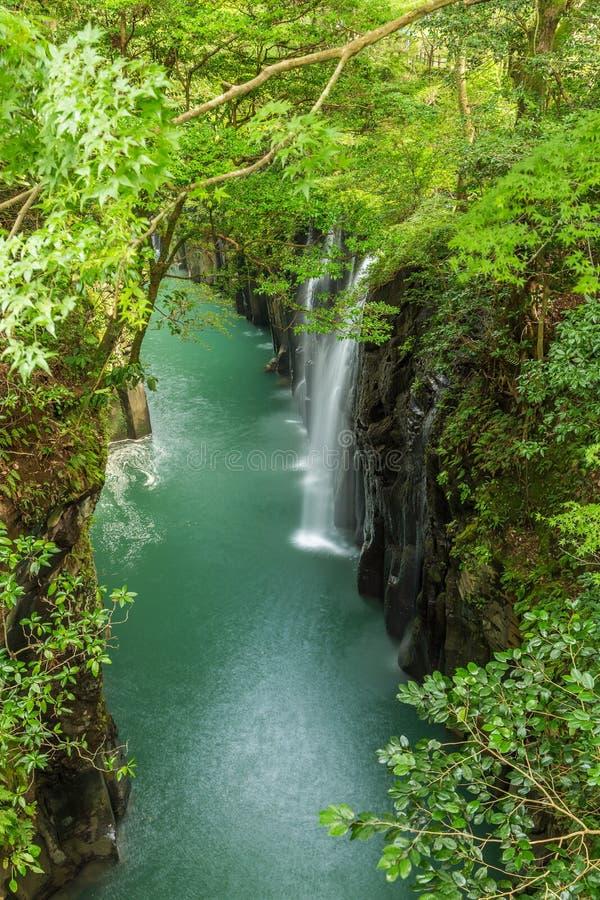 Free Takachiho Gorge And Waterfall In Miyazaki, Japan Stock Photography - 87745572