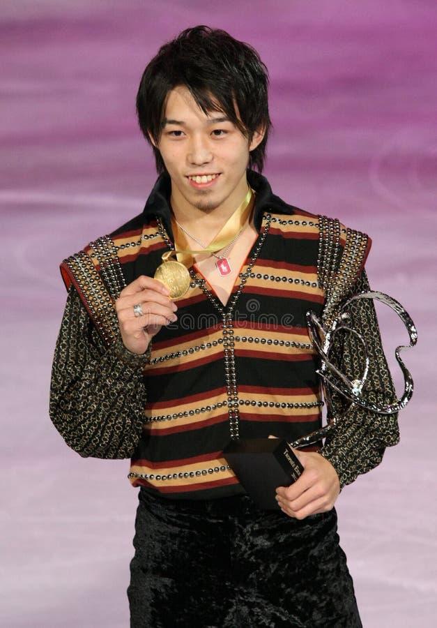 Takahito MURA (JPN) photographie stock libre de droits