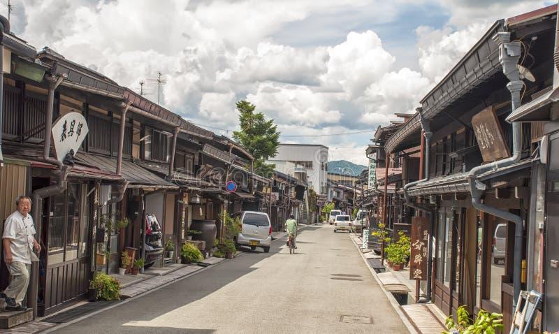Takayama,日本 免版税库存图片