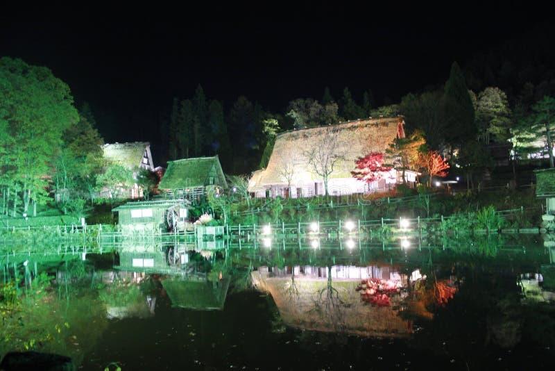 Takayama folkby royaltyfri foto