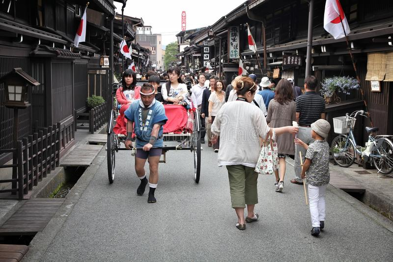 Takayama Japan arkivfoto