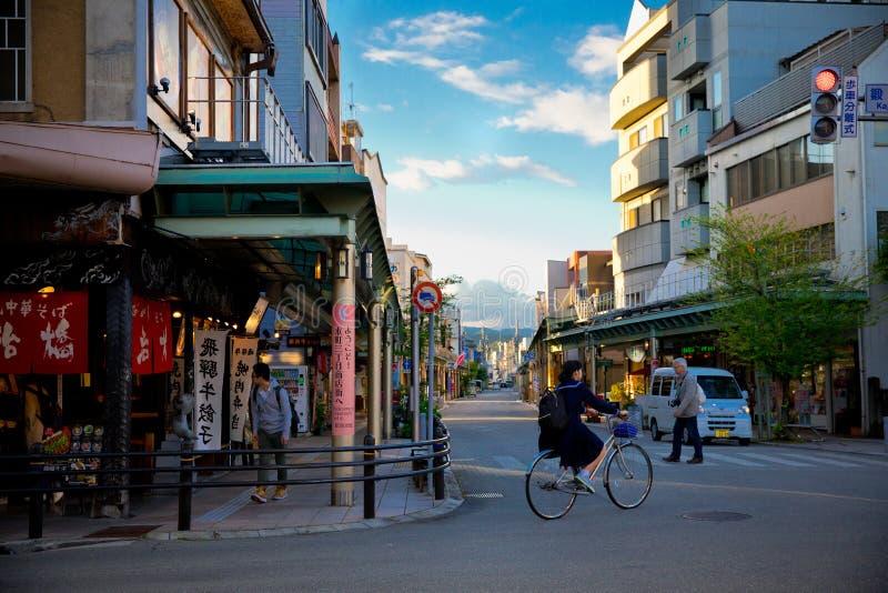 Takayama w Gifu Japonia obrazy stock