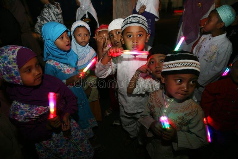 Takbir Eid royalty-vrije stock foto
