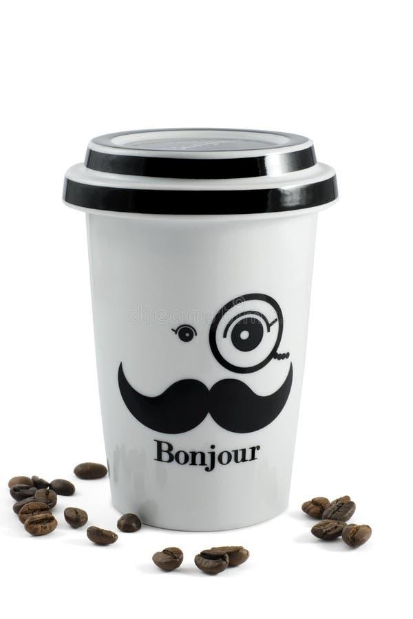 Take away coffee royalty free stock photo