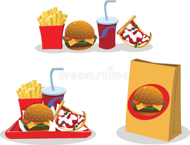 Download Take away food stock vector. Image of image, container - 27178896