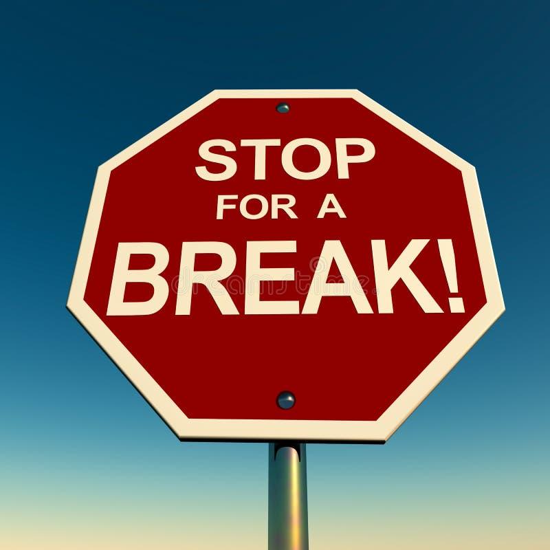 Take Break Stock Images