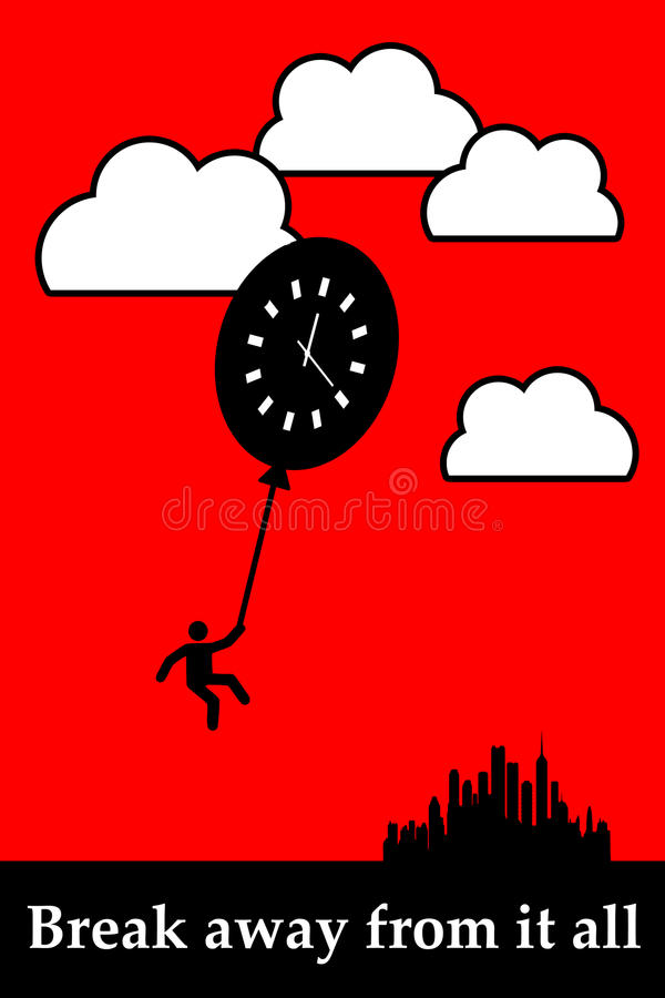 Download Take a break stock illustration. Illustration of breather - 28956148