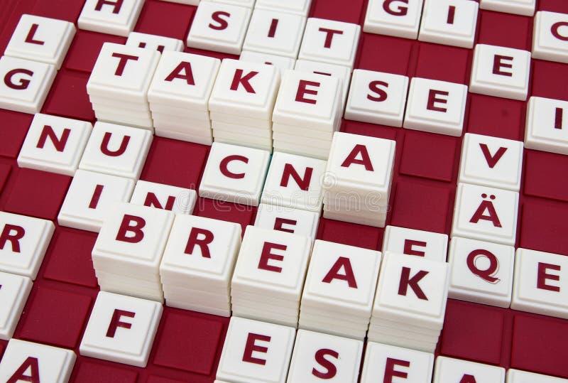 Download Take a break stock image. Image of break, take, words - 8239839