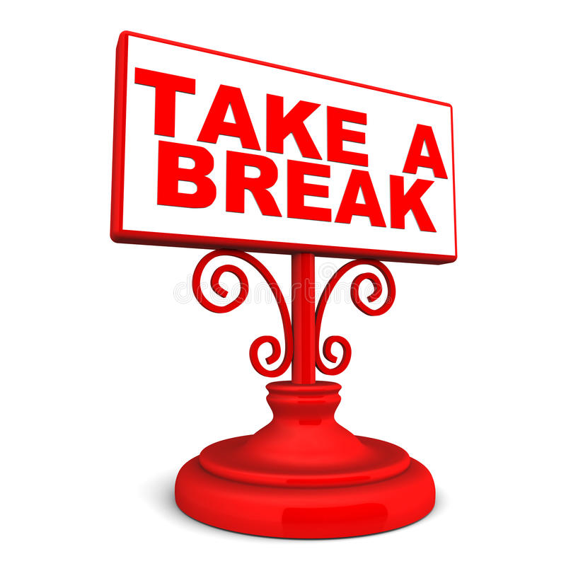 how to take a break in a relationship