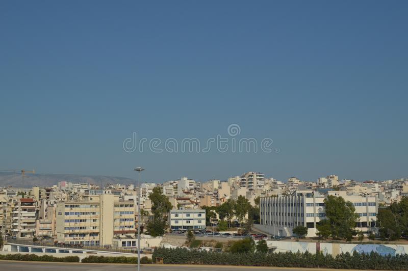 Take The City Of Piraeus From A Cruise. Architecture Landscapes Travel Cruises. stock images