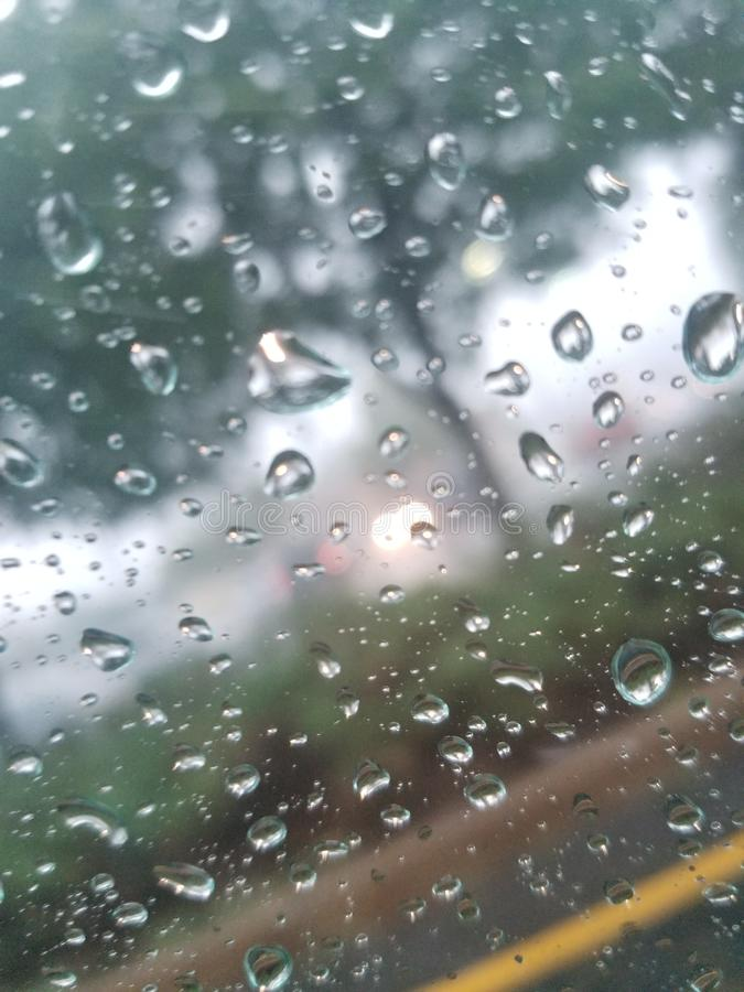Take a Closer Look. Raon, rain, weather royalty free stock images