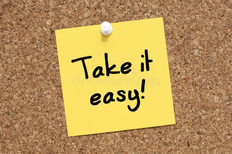 Take it Easy royalty free stock image