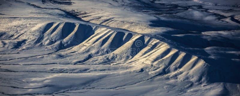 3Take een satellietbeeld van het ijs en de zonsopgang over de bering Straat ï ¼ ˆ1ï ¼ ‰ royalty-vrije stock fotografie