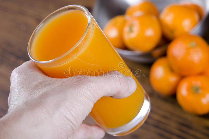 Take juice! stock photography