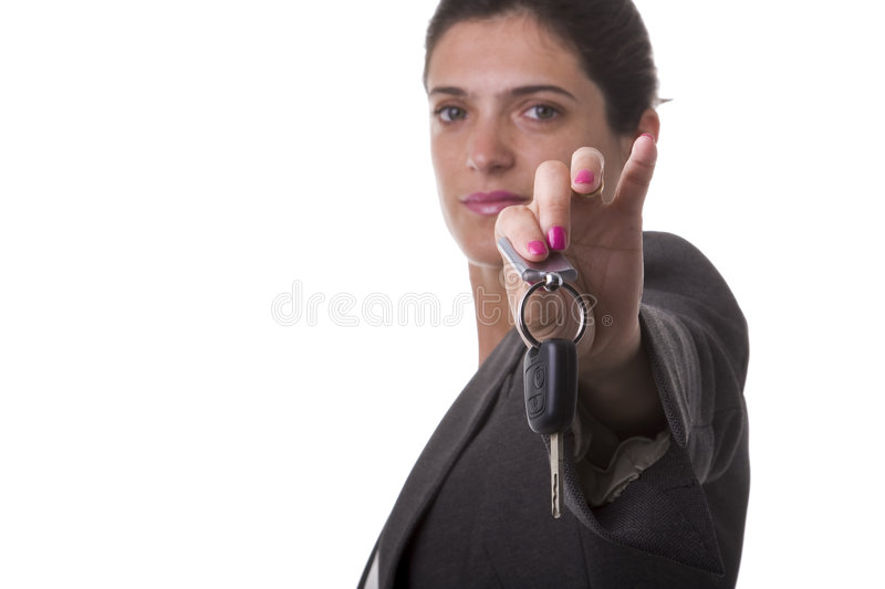 Take the keys of your car royalty free stock images