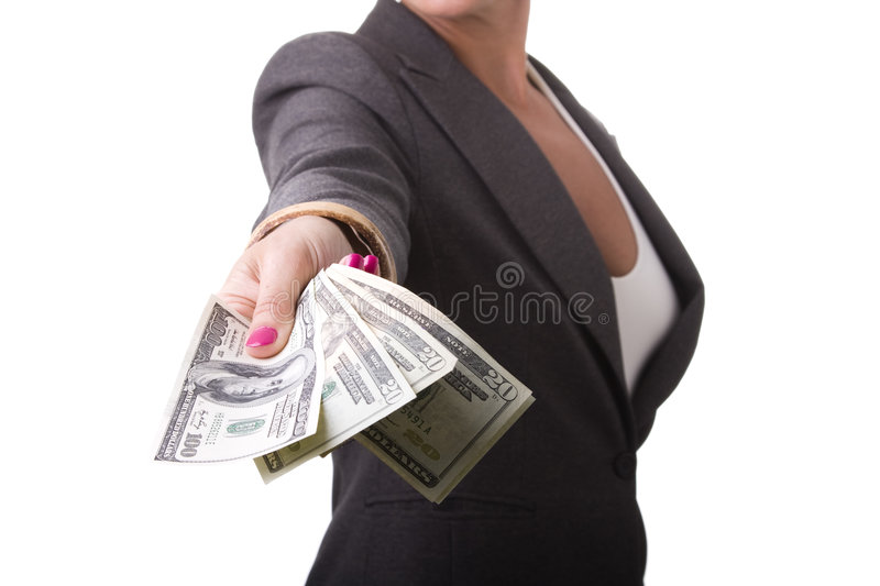 Download Take The Money Royalty Free Stock Images - Image: 7903319
