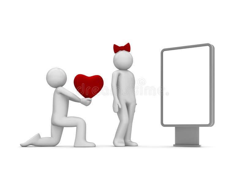 Download Take My Love, Darling Citylight Stock Illustration - Image: 12526137