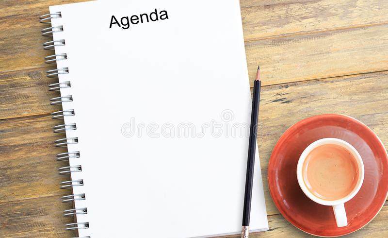 Take note of the product for book with paper concept,object or copy space royalty free stock images