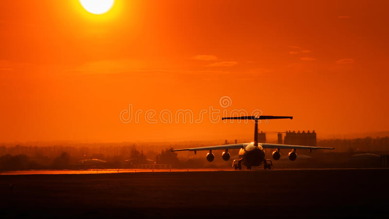 Take off royalty free stock photography