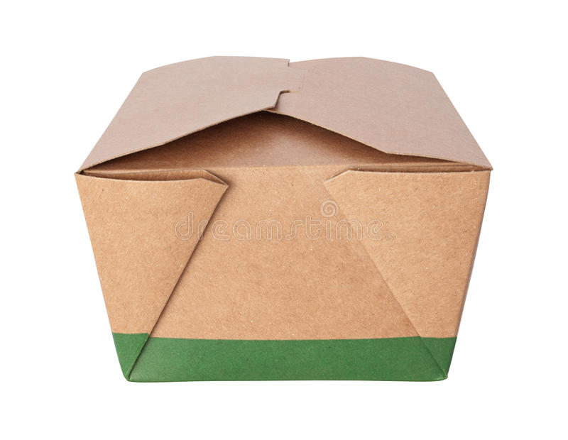 Download Take-Out Box (with Clipping Path) Stock Photo - Image: 11545850