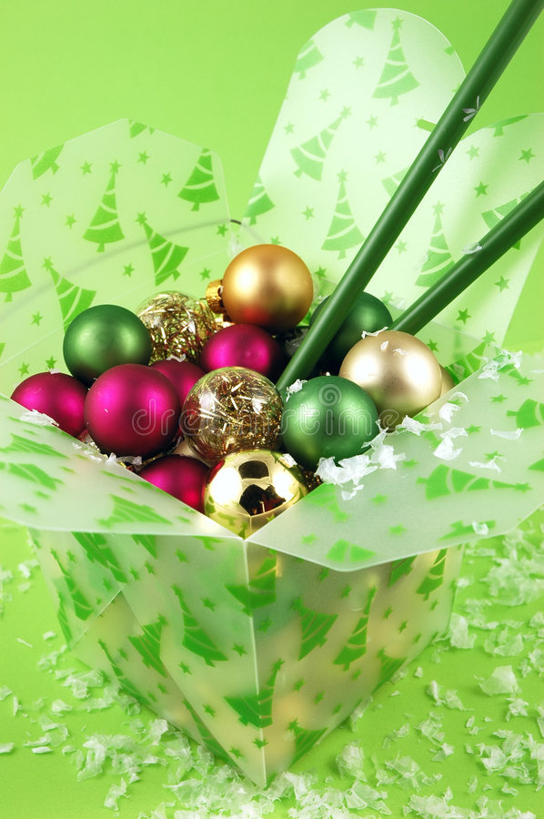 Free Take-Out Christmas Royalty Free Stock Photography - 1513037