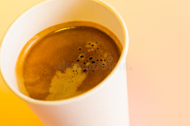 Download Take-out coffee stock image. Image of cappuccino, heat - 28033323
