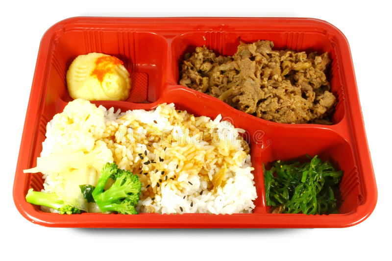 Download Take Out Food stock image. Image of takeaway, tray, vegetable - 6022307