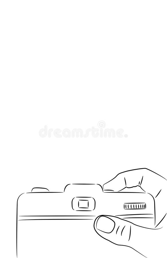 Download Take a picture stock illustration. Image of takes, digital - 12728397