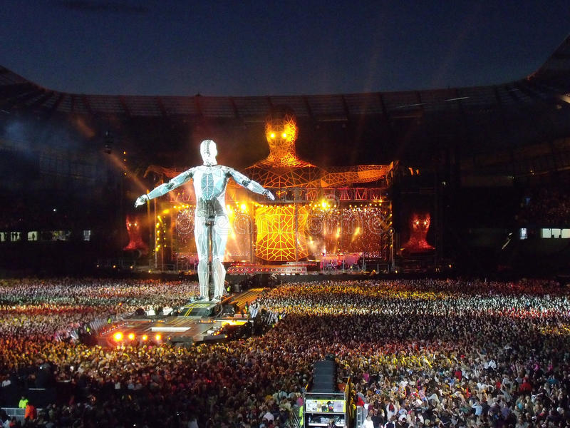 Take That Progress Tour Live stock image