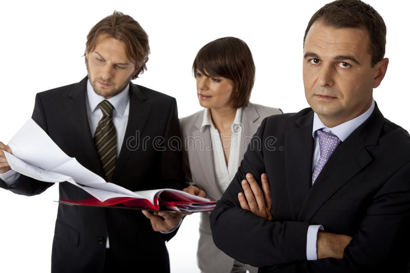 We take it serious stock image