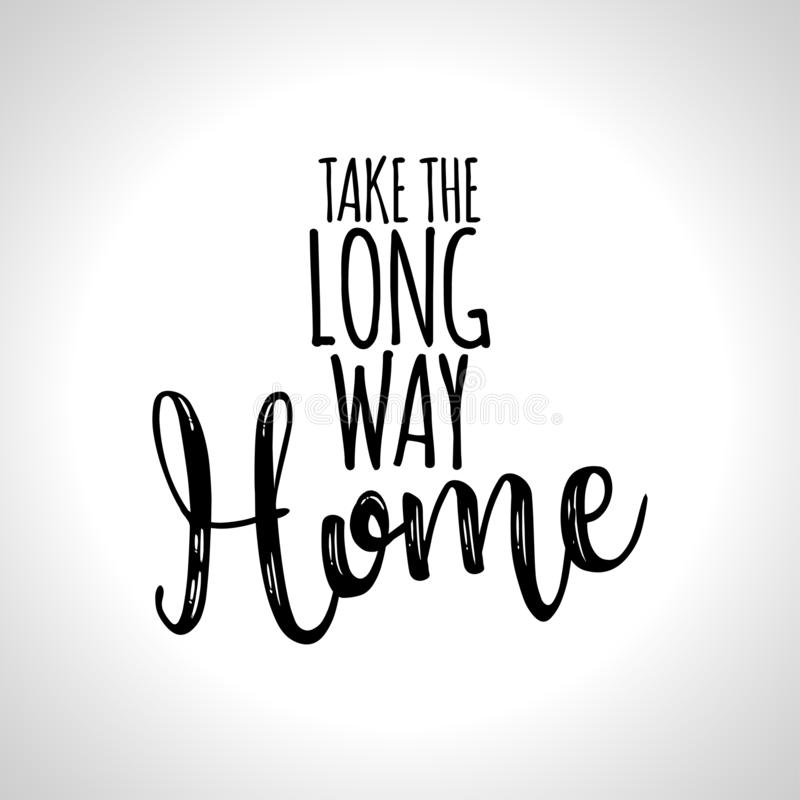 Free Take The Long Way Home Stock Photo - 127368680