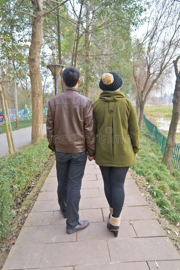 Download Take a walk stock image. Image of asia, back, park, portrait - 22769929