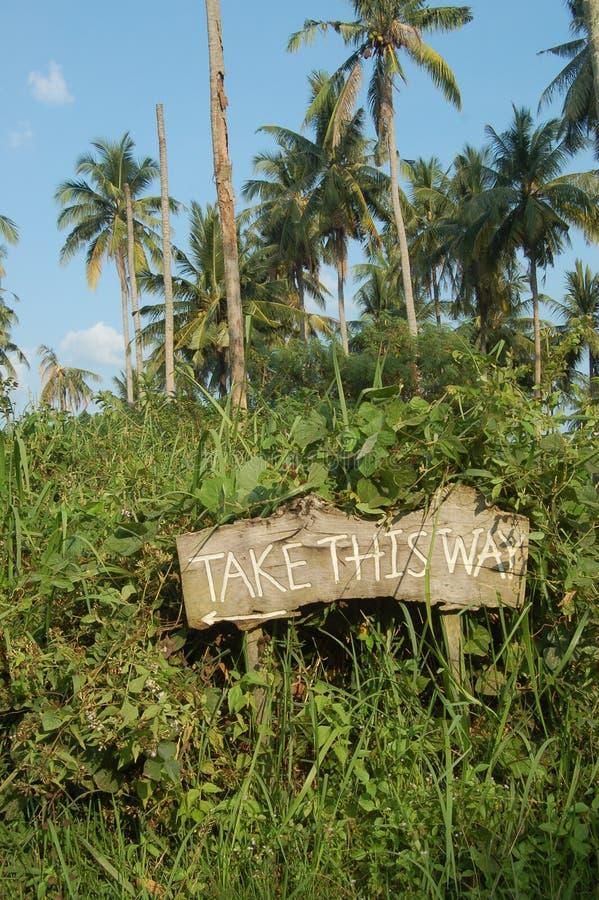 Take this way