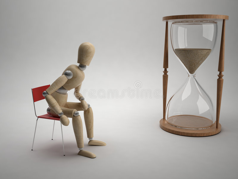 Take your time royalty free illustration