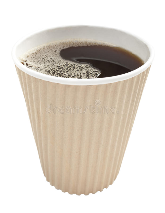 Takeaway Coffee stock photography
