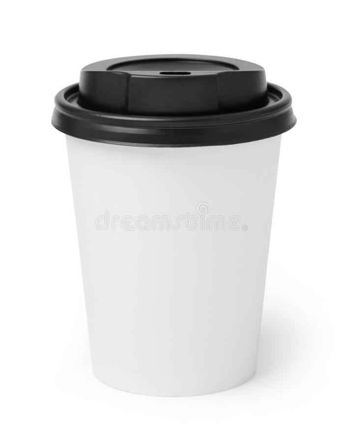Takeaway coffee cup stock images